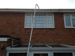 Gutter Cleaning in Whitehaven, Cumbria.