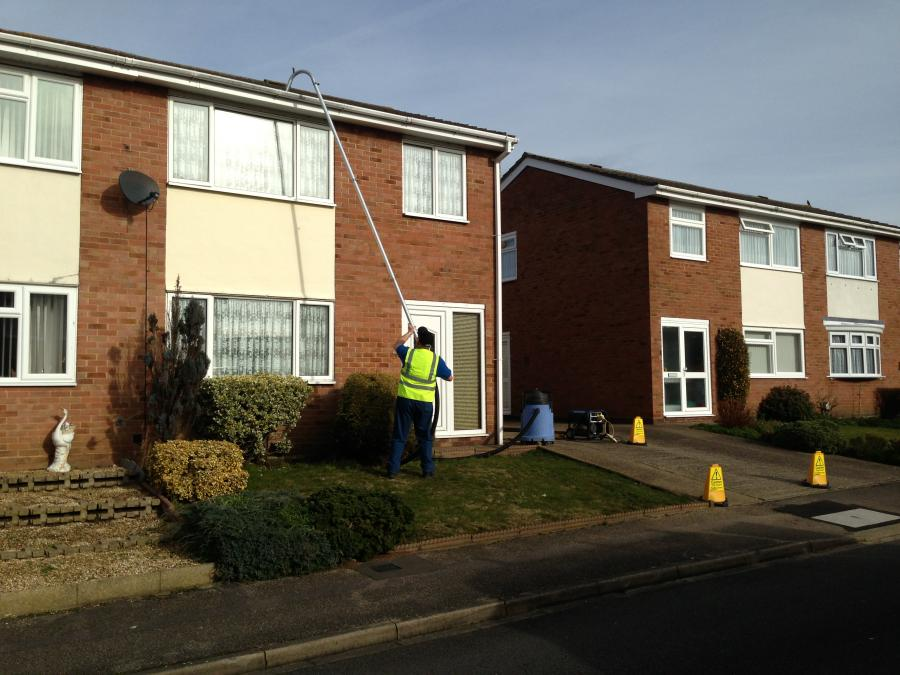Whitehaven gutters and upvc cleaned.